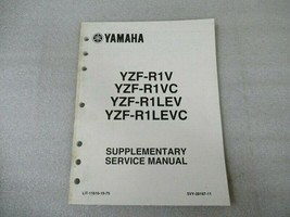 Yamaha YZF-R1V/R1VC/R1LEV/R1LEVC Supplementary Service Manual LIT-11616-19-75 - $10.39
