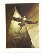 "vintage Frank Frazetta 11"" x 9"" Book Plate Print- Birdman - $7.00"