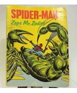 Big Little Books Whitman Spider Man Zaps Mr. Zodiac - $12.25