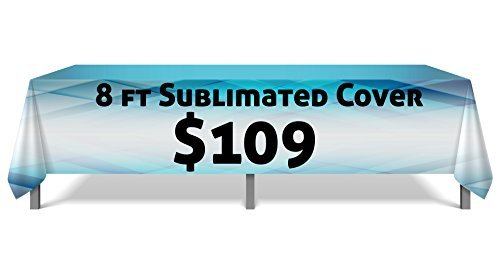 Table Cover Guys - 8ftCover - Fully Custom Table Throw, Any Color, Any Design