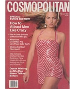 1989 Cosmopolitan Vintage Fashion Magazine Rachel Williams Oprah Winfrey... - $39.65