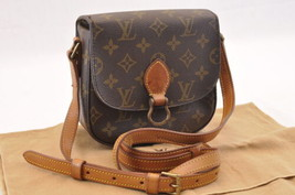 LOUIS VUITTON Monogram Saint Cloud PM Shoulder Bag M51242 LV Auth sa1762 - $398.00