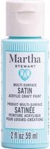 Martha Stewart Crafts Multi-Surface Satin Acrylic Craft Paint, 2 oz, BUBBLES - $9.89