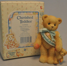 Cherished Teddies - Congratulations - 215910 - This Calls For A Celebration - $11.18