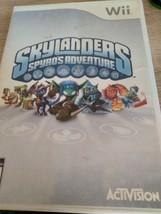 Nintendo Wii Skylanders: Spyro's Adventure Starter Set Bundle Lot image 6