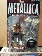 Metallica Harvesters of Sorrow Lars Ulrich McFarlane Action Figure - $83.66