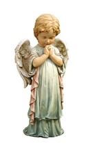 Praying Angel Cherub Pastel Garden Statue Outdoor Decor - €26,24 EUR