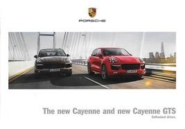 2015 Porsche CAYENNE and GTS sales brochure catalog US 15 - $10.00