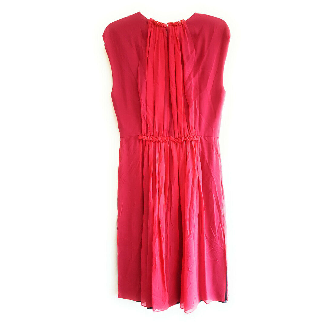 Giorgio Armani Silky Flow Dress, Hot Pink, 42 image 2
