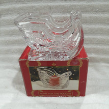 Royal Limited 24% Full Lead Hand Cut Crystal Candle Candy Holder Home Fo... - $23.95