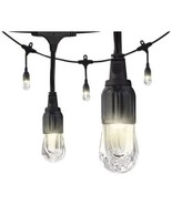 Enbrighten Cafe Classic 31663 Classic LED Cafe Lights (36ft; 18 Acrylic ... - $107.99