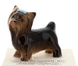 Hagen-Renaker Miniature Ceramic Dog Figurine Yorkshire Terrier image 1
