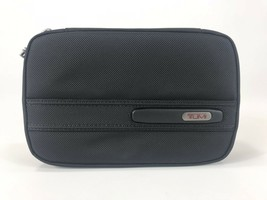 Tumi Split Case Travel Kit Toiletry Shave Bag Dopp Kit Black Ballistic N... - $98.99