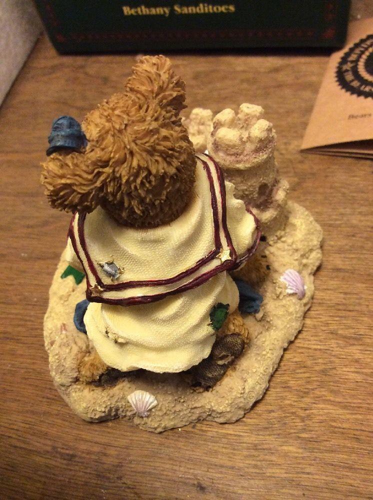 """Boyds Bears #2277931 """"Bethany Sanditoes"""" Sandcastles, Seashells, 2003 NIB,"""