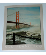 Reynard of San Francisco High Surf Ft. Fort Point Golden Gate Bridge Pos... - $8.31
