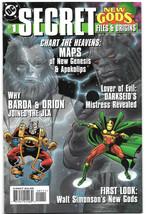 Secret Files and Origins New Gods #1 VF- 1998 DC Comics Darkseid Barda O... - $4.94
