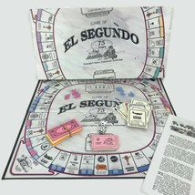 Vintage 1992 El Segundo SegNopoly Monopoly Game 75 Years Edition Californiana  - $32.68