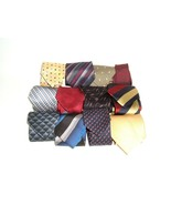 Lot of 12 Vtg to Modern Neck Ties Garati Nordstrom Fazio Palatina Venezi... - $16.78