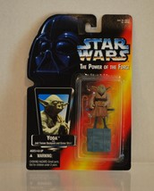 Star Wars Power of the Force Yoda Jedi Trainer Backpack & Gimer Stick 1995 - $5.00