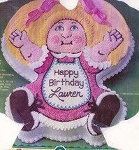 Wilton Cake Pan: Cabbage Patch Kids Baby Doll Dolly Cake Pan Mold (2105-1984, 19 - $24.99