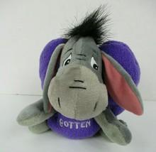Disney Theme Park Edition Valentine Eeyore Plush 2003 Purple Heart Pooh ... - $16.82