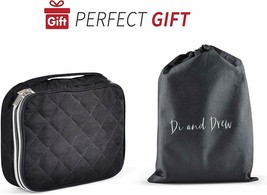 NEW Large Quilted Velvet Travel Jewelry Case 12 pieces-wholesale-bulk - $85.14