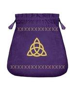 Triquetra Triple Moon Velvet recharging pouch Charge Magickals spells Ca... - $49.77