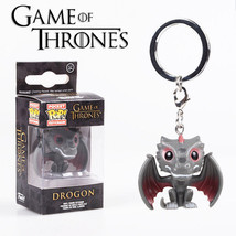 Funko Pop Game of Thornes, Deadpool, Iron Man, Spider Man Pvc KEYCHAIN - $9.98