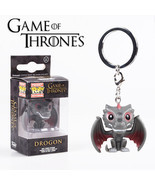 Funko Pop Game of Thornes, Deadpool, Iron Man, Spider Man Pvc KEYCHAIN - $13.24 CAD