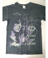 RARE ALICE COOPER Along Came A Spider 2009 CONCERT TOUR Black T-Shirt sm... - $19.80