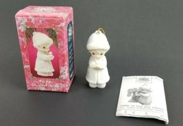 """Precious Moments Christmas Ornament """"May your Christmas be Merry"""" #52417... - $14.24"""