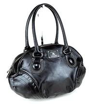 Authentic BURBERRY London Blue Label PVC Black Leather Shoulder Bag Purs... - $157.41