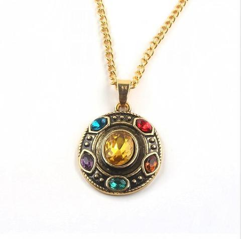 Marvels Avengers Infinity War / End Game Infinty Stones Gauntlet Themed Pendant