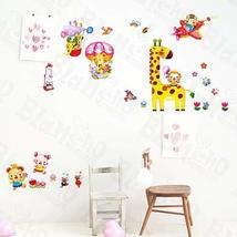 Animal Friends-4 - Wall Decals Stickers Appliques Home Decor - $6.43