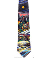 Yosemite Men's Necktie Sierra Club National Park Nature Silk Neck Tie - $17.82
