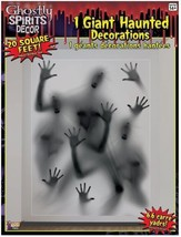 Forum Novelties Ghostly Indoor/Outdoor Spirits Wall Decoration, 5', Gray - $12.37