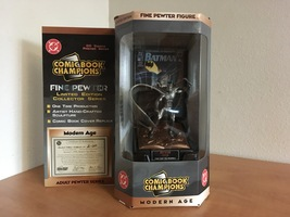 Comic Book Champions Modern Age Batman Pewter Figure - Limited Edition - $25.00