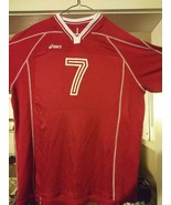 RARE Authentic Asics Maryland Terrapins #7 College Team Volleyball Jerse... - $23.51