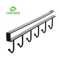 Iron Kitchen Storage Rack Cupboard Hanging Hook Shelf Dish Hanger Chest ... - $17.22 CAD