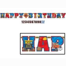Tonka Trucks Jumbo Letter Banner Happy Birthday Supplies 1 Per Package New - $8.66