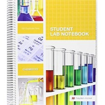 Student Lab Notebook: 100 Spiral Bound duplicate pages(Package may vary) - $39.95