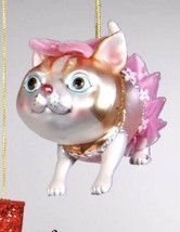 Katherine's Collection Cat Christmas tree Ornament pink Tutu 22-24376 - $16.99