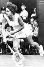 Evonne Goolagong in Action On Tennis Court 1971 24x18 Poster - $23.99
