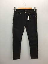 Alexander McQueen Auth Ripped Skinny Straight Pants Black Size 46 Used - $242.99
