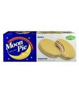 Moon Pie Minis BANANA (6 Mini Pies) Original Marshmallow Sandwich - $4.99