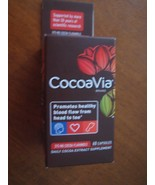 CocoaVia Daily Cocoa Extract Supplement 60 Count 375mg 60 Capsules