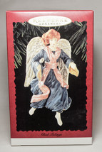 Hallmark: Glad Tidings - Angel - 1996 Classic Keepsake Ornament - $8.27