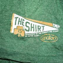 The Shirt 26 Years  2015 Notre Dame Irish Football Golden Tradition Legion XL image 4