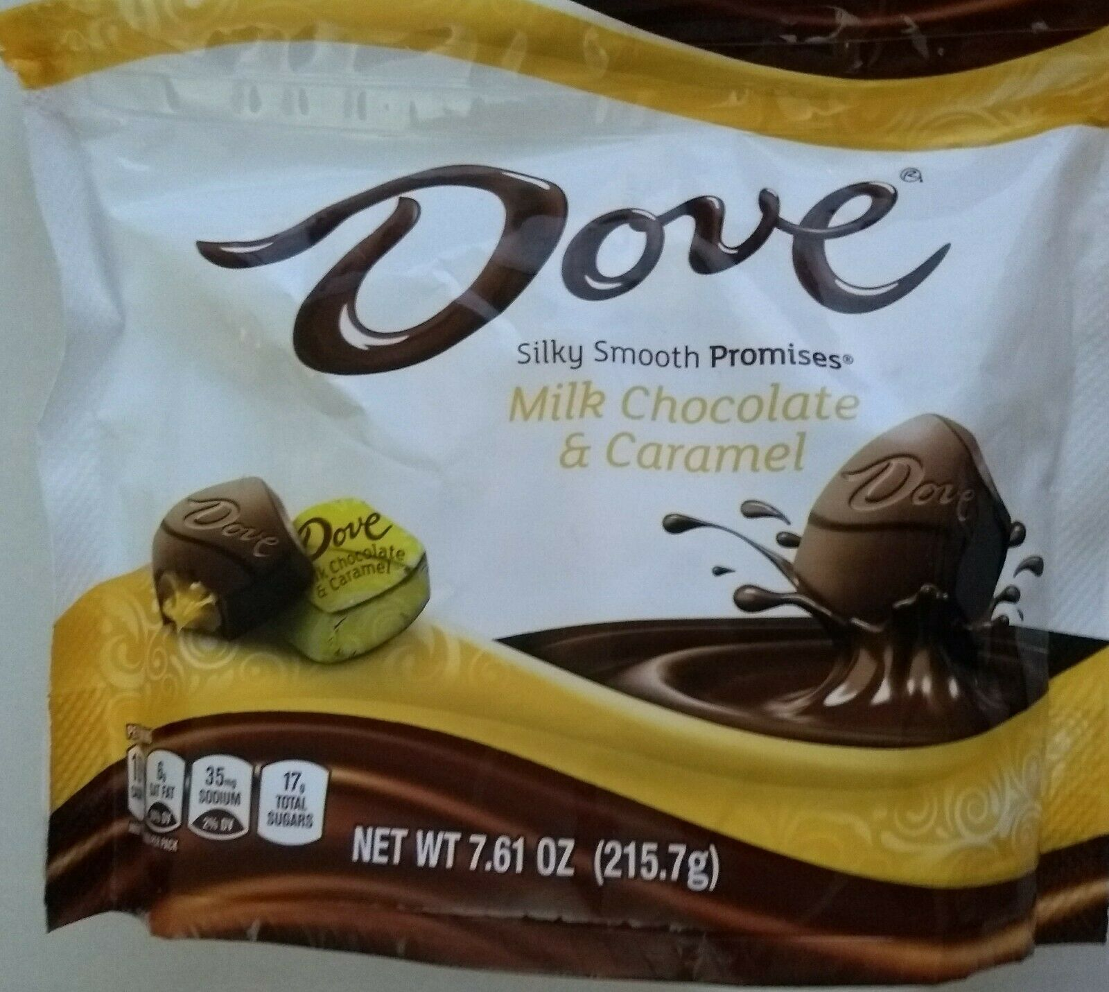 Dove Promises Milk Chocolate & Caramel Candies - 7.6oz - $9.89