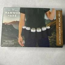 Hammer Axe Cliffhanger Six Pack Belt For Cans Bottles w Bottle Opener Fr... - $12.86